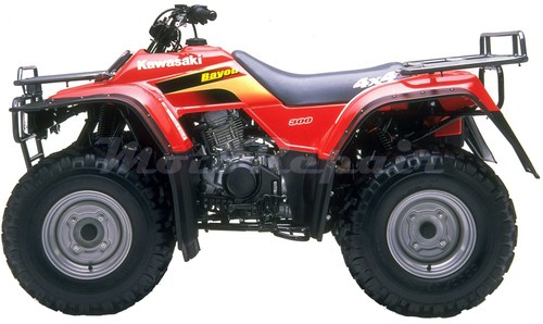 Product picture 1986-2006 KAWASAKI KLF300 4x4 and 2x4 Bayou Service Manual, Repair Manuals -AND- Owners Manual, Ultimate Set PDF Download
